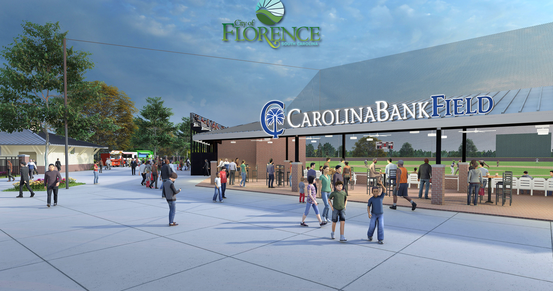 Flamingos announce Carolina Bank as new naming rights partner